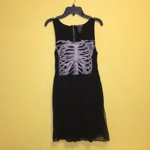 Skeleton/ Halloween dress